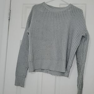 Baby blue sweater small
